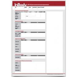 Befundbögen für InBody570