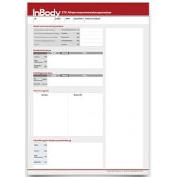 Befundbögen für InBody570 Kinder